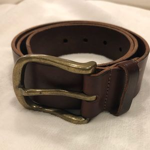 Isabel Marrant Leather Brown Belt